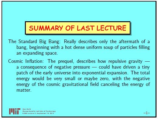 Ранняя вселенная. Инфляционная Космология: является ли наша вселенная частью мультивселенной? Часть 2 - 2