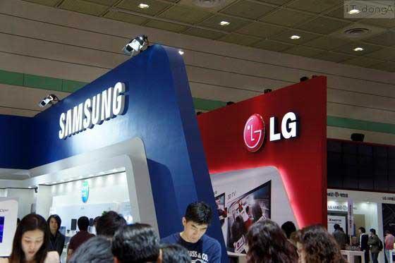 Samsung закажет еще больше ЖК-панелей у LG Display в этом году