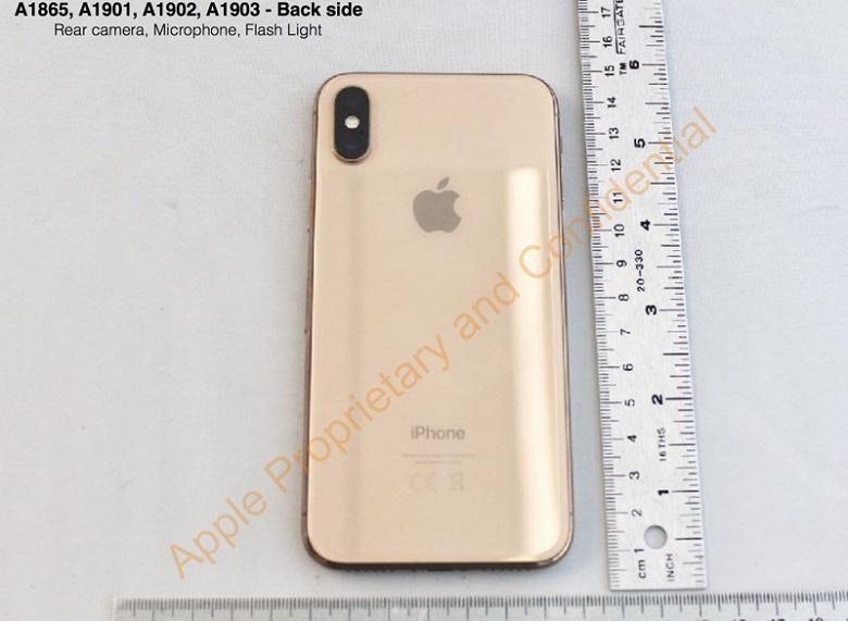 Фото дня: смартфон iPhone X в золотом цвете - 2
