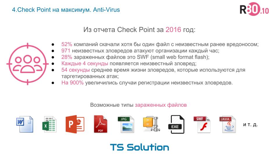 4. Check Point на максимум. Проверяем Anti-Virus с помощью Kali Linux - 2