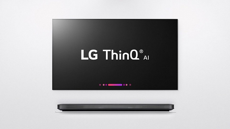 LG начинает мировые продажи новой серии телевизоров OLED с функцией ИИ