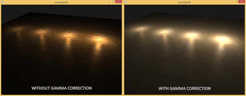 Learn OpenGL. Урок 5.2 — Гамма-коррекция - 5