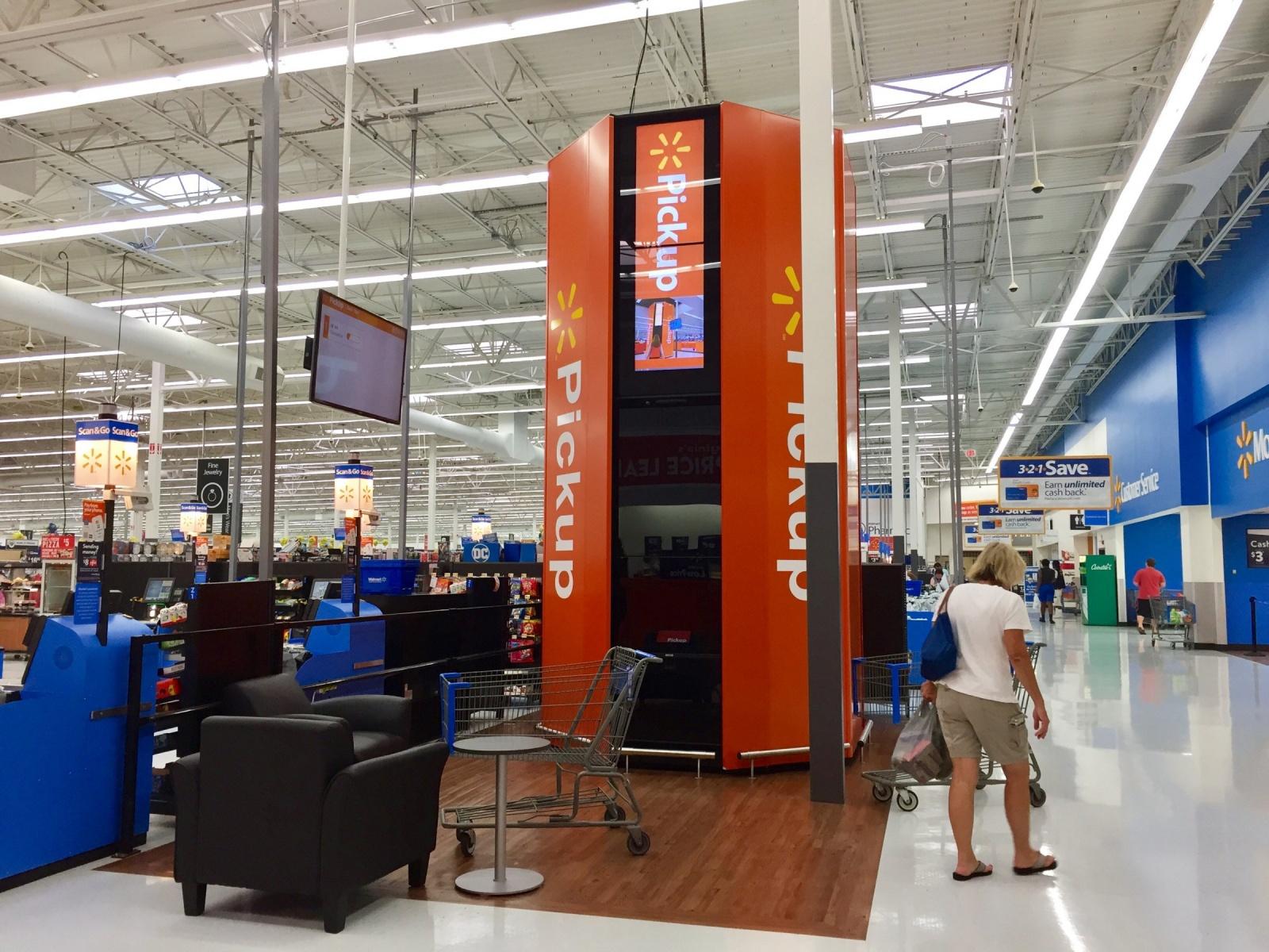 Walmart будет устанавливать в супермаркетах автоматы для выдачи онлайн-покупок - 6