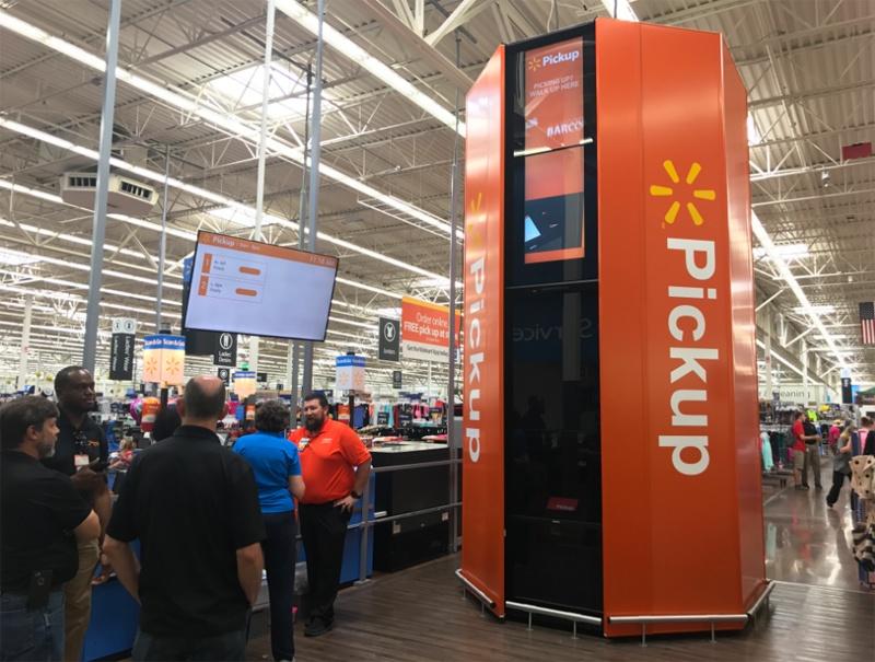 Walmart будет устанавливать в супермаркетах автоматы для выдачи онлайн-покупок - 1