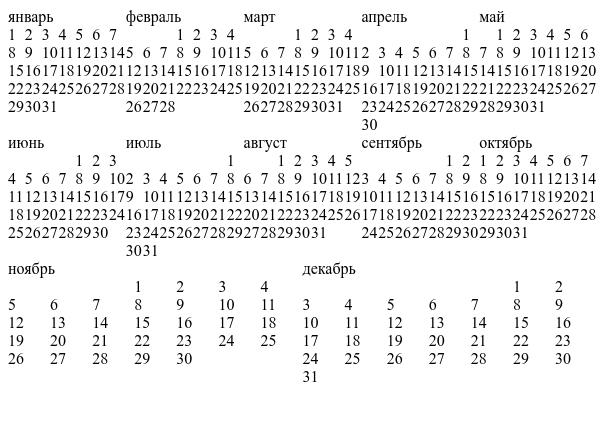 Верстаем flex-календарик - 9