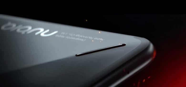 Изображения игрового смартфона Nubia Red Magic указывают на наличие светодиодной полоски на тыльной части корпуса - 2