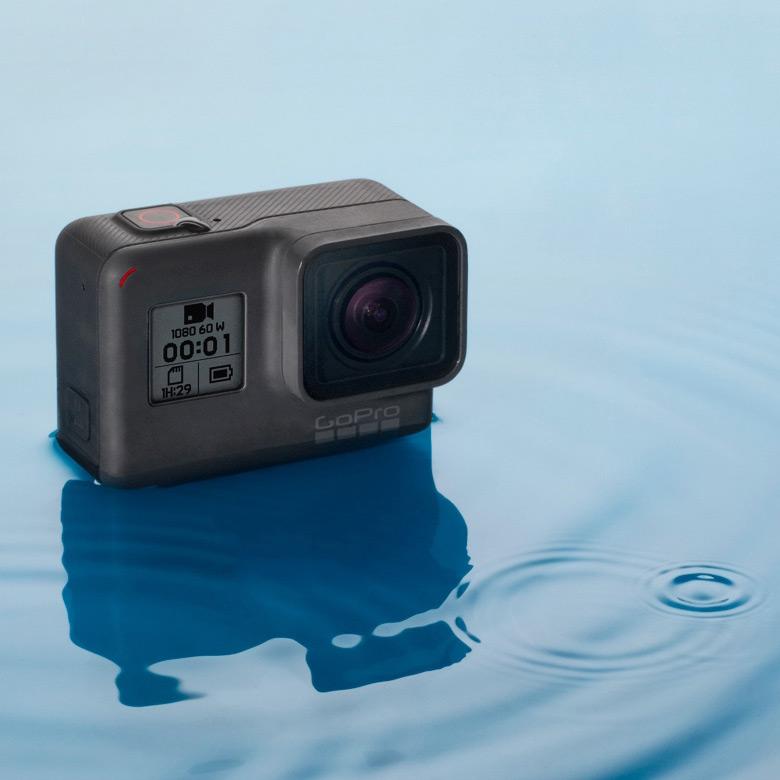 В программе участвуют камеры GoPro HERO6 Black и Fusion