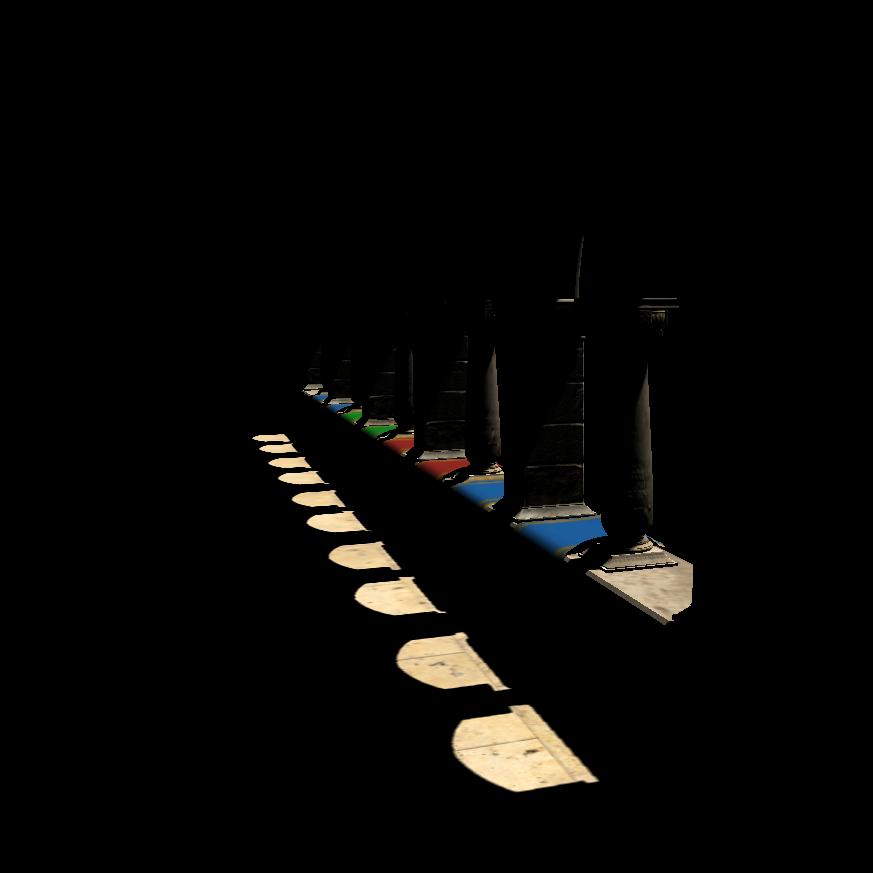 Глобальное освещение с использованием трассировки вокселей конусами - 1