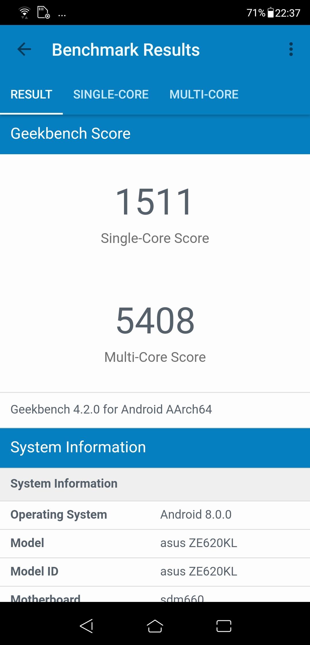 Обзор смартфона ASUS Zenfone 5 ZE620KL - 60