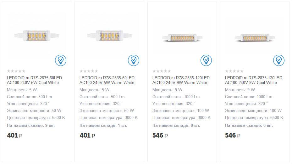 Светодиодные лампы Ledroid - 2