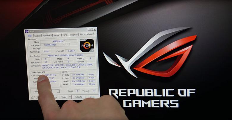 Процессору AMD Ryzen 7 2700X покорилась частота в 6 ГГц - 2