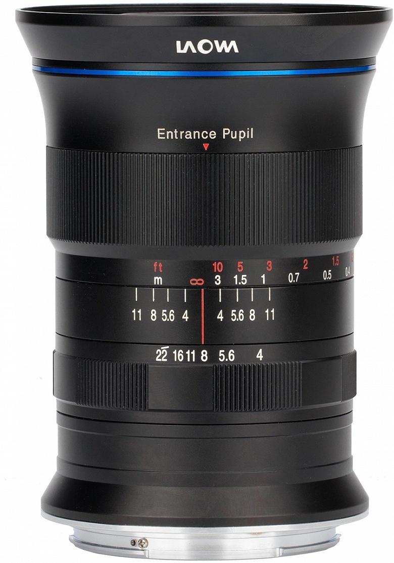 Laowa 17mm f/4 GFX Zero-D — самый широкоугольный объектив системы Fujifilm GFX