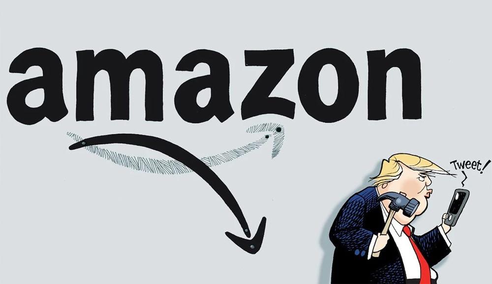 Как Трамп пытается повалить Amazon - 2