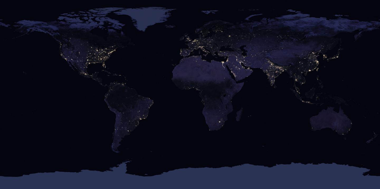 Как выглядит Земля из космоса - 6