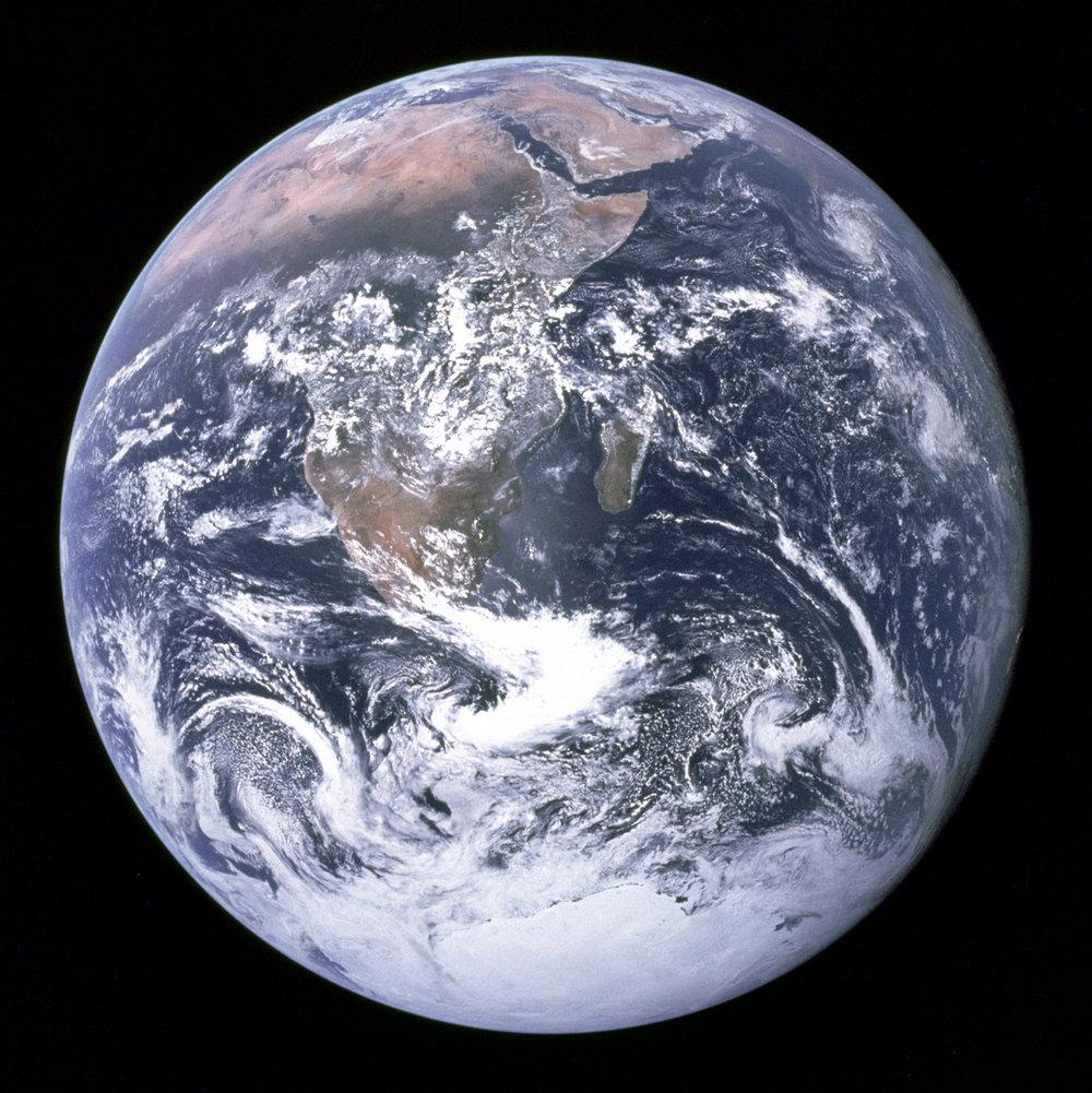 Как выглядит Земля из космоса - 1