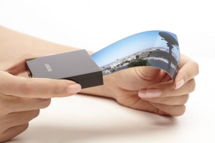 Сгибающийся смартфон Samsung может быть оснащен...тремя дисплеями