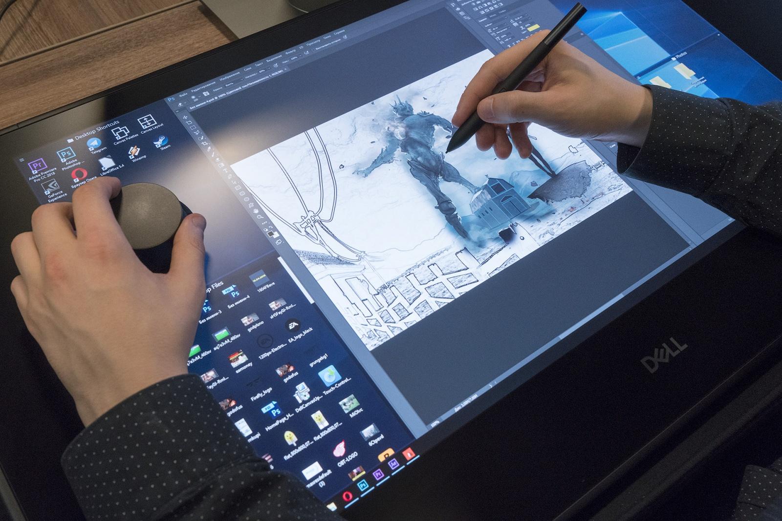 Dell Canvas: интерактивная панель для профессиональной работы с графикой - 2