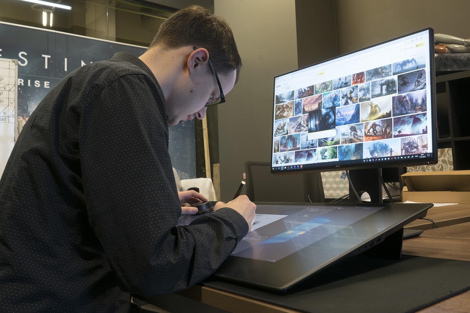 Dell Canvas: интерактивная панель для профессиональной работы с графикой - 6