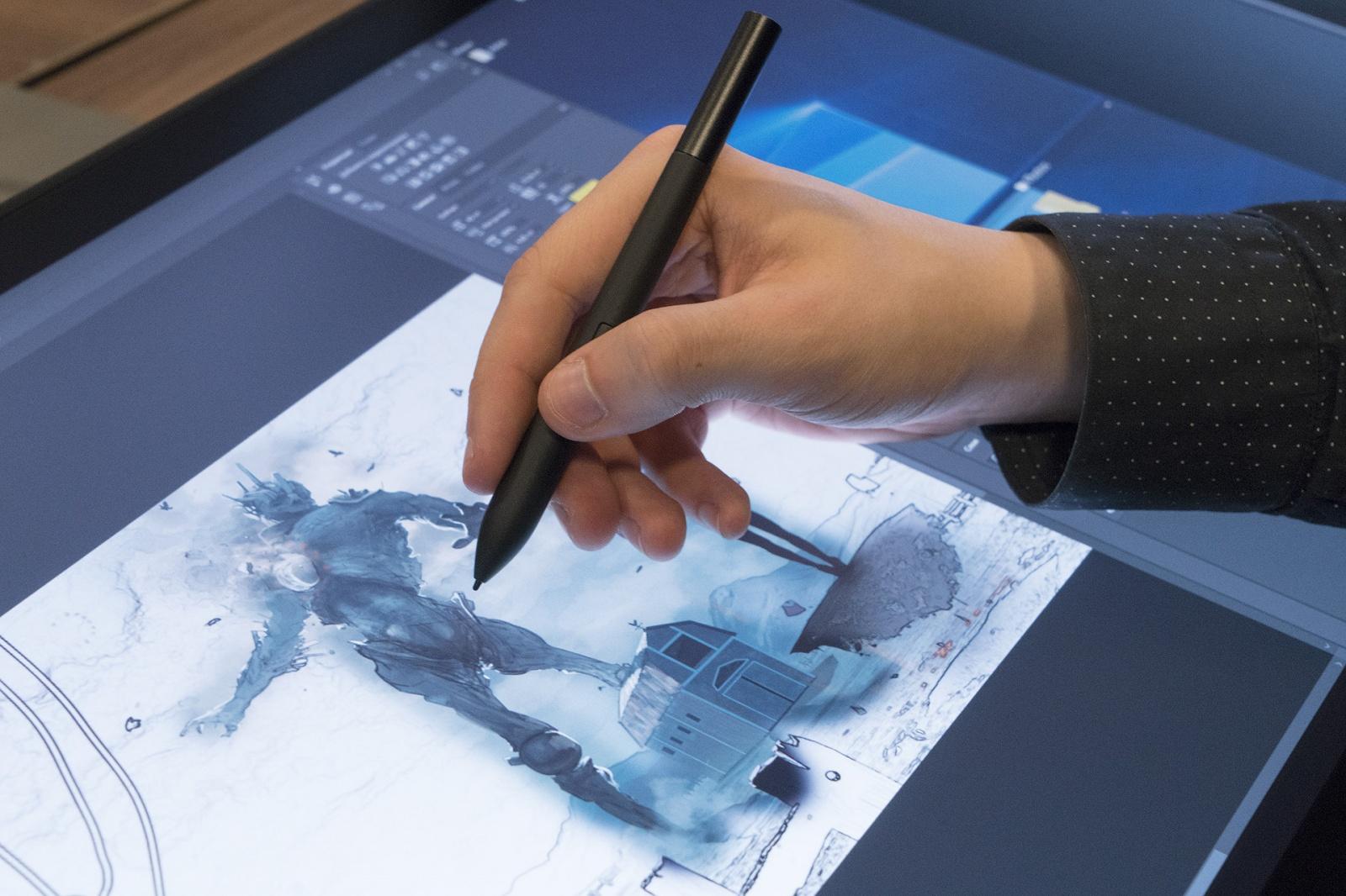 Dell Canvas: интерактивная панель для профессиональной работы с графикой - 9
