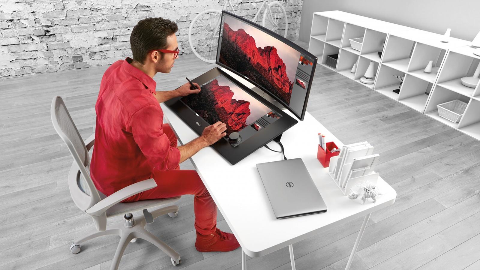 Dell Canvas: интерактивная панель для профессиональной работы с графикой - 1