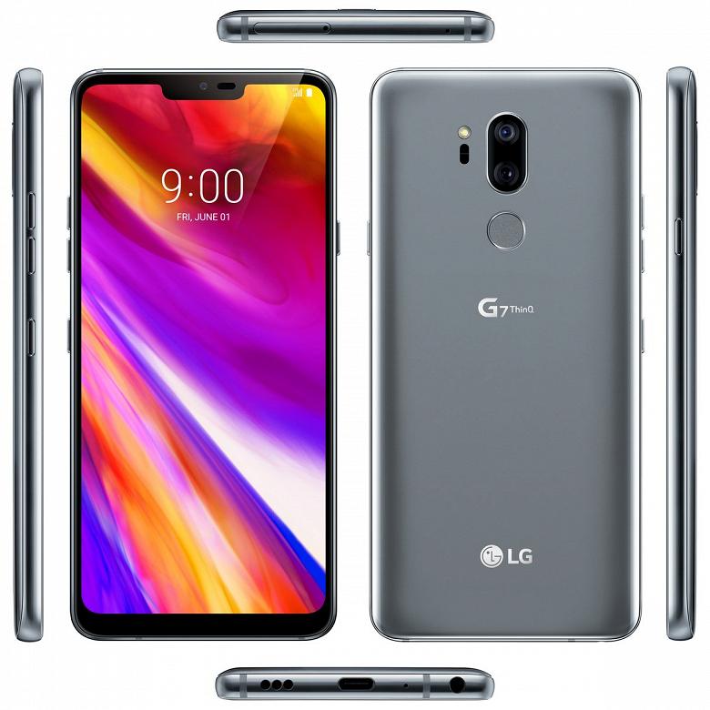 Смартфон LG G7 ThinQ будет представлен 2 мая
