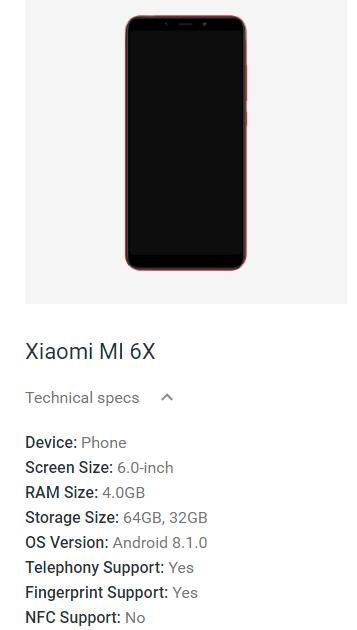 Смартфон Xiaomi Mi 6X обойдётся покупателям в 285 либо 315 долларов - 2