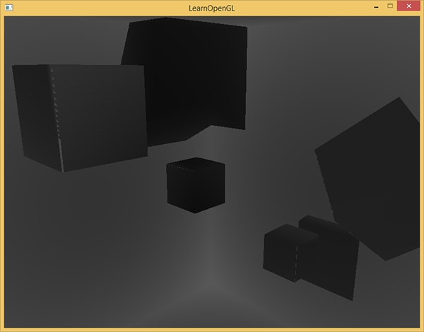 Learn OpenGL. Урок 5.4 – Всенаправленные карты теней - 4