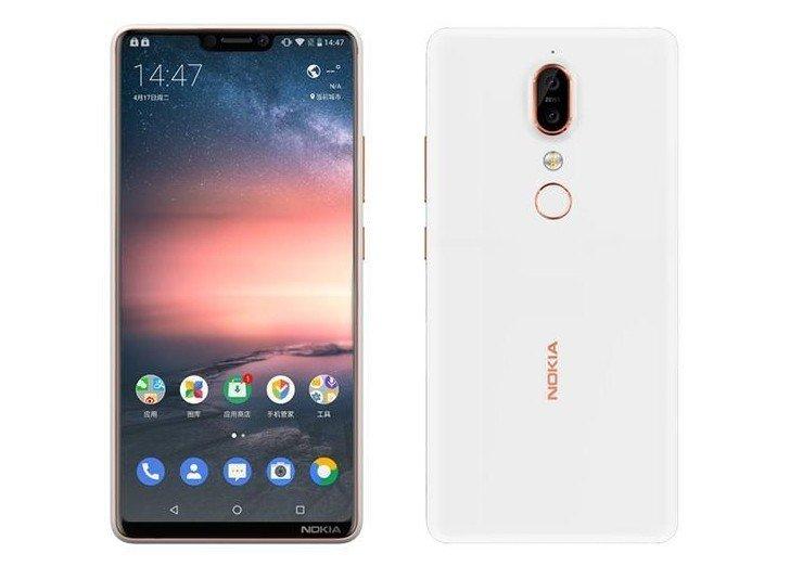 Первое изображение смартфона Nokia X6 демонстрирует наличие выреза вверху экрана - 1