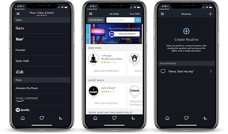 Приложение Amazon Alexa стало полностью совместимо Apple iPhone X