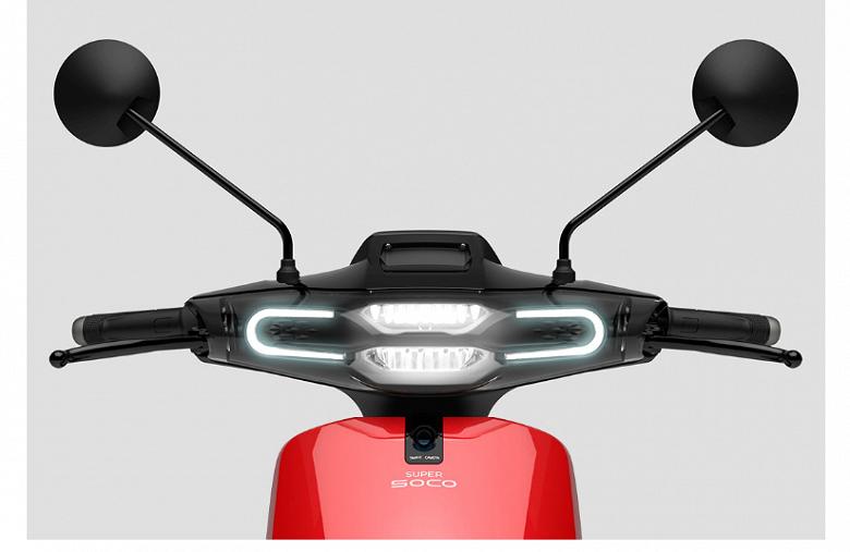 Xiaomi Super Soco CU Electric Smart — электроскутер со светодиодными фарами, круиз-контролем и камерой - 2