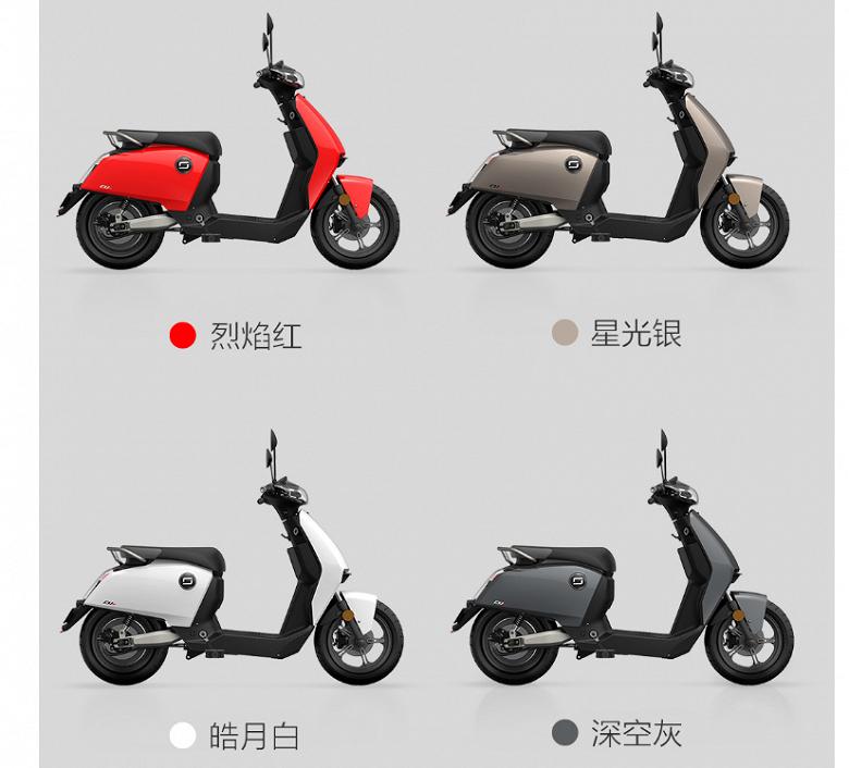 Xiaomi Super Soco CU Electric Smart — электроскутер со светодиодными фарами, круиз-контролем и камерой - 4