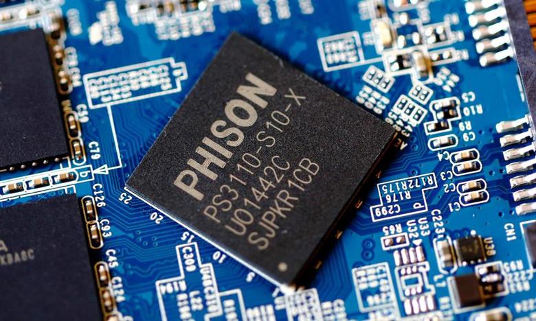 В Phison рассчитывают за год почти удвоить продажи контроллеров SSD