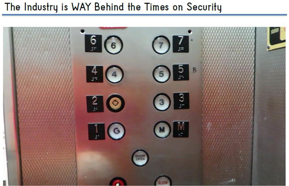 Конференция HOPE X. «Взлом лифта: от подвала до пентхауза». Часть 2. «Системы безопасности» - 1