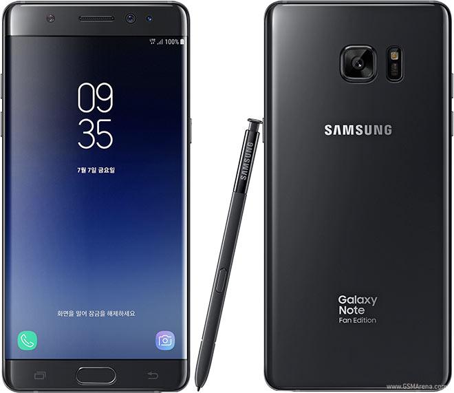 Смартфоны Samsung Galaxy Note7 Fan Edition получили обновление Android Oreo