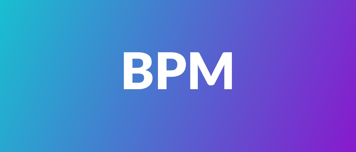 Разбираемся с понятием BPM. Что такое управление бизнес процессами - 1