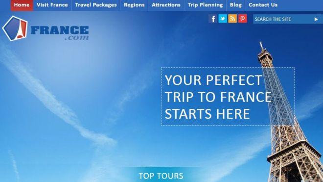 Французское правительство обвиняется в незаконном захвате домена France.com