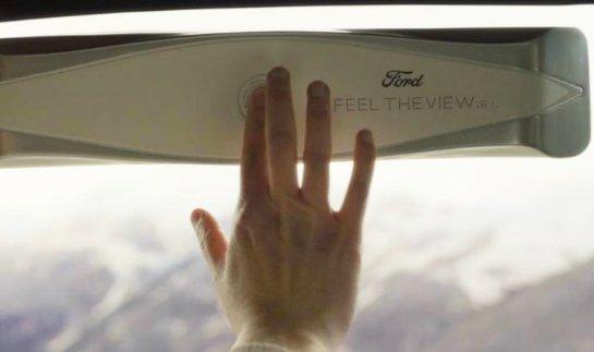 Умные окна Ford могут помочь слепым пассажирам «увидеть»