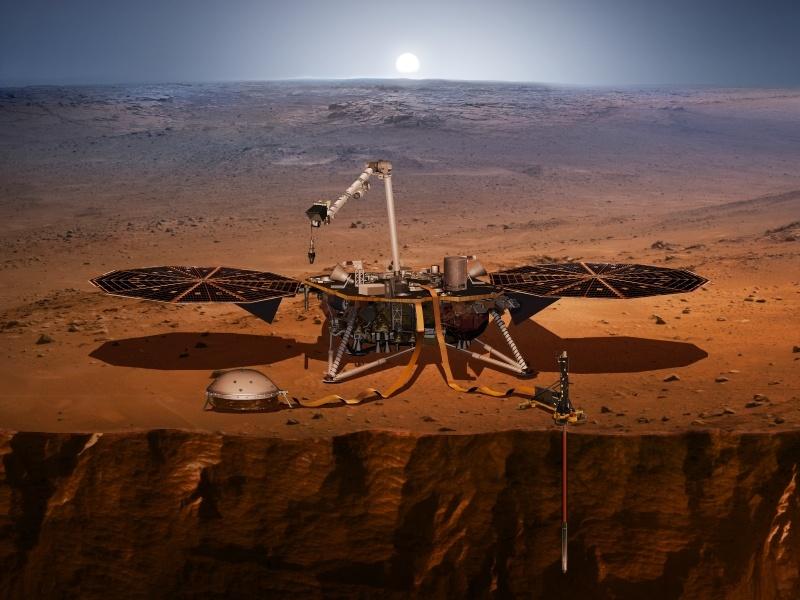 В глубины Марса с термометром - 1