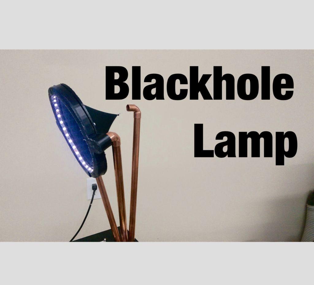 Светильник «чёрная дыра» - 1