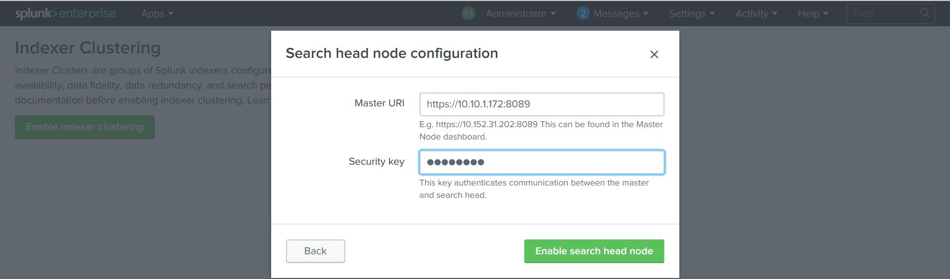 Splunk Distributed Search. Или как построить Indexer кластер на Splunk? - 7