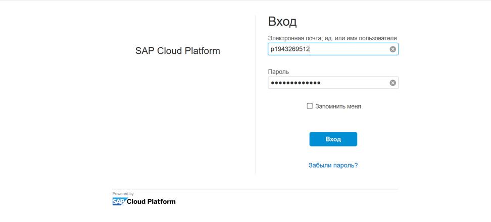 Настройка безопасности для приложений на облачной платформе SAP Cloud Platform - 25