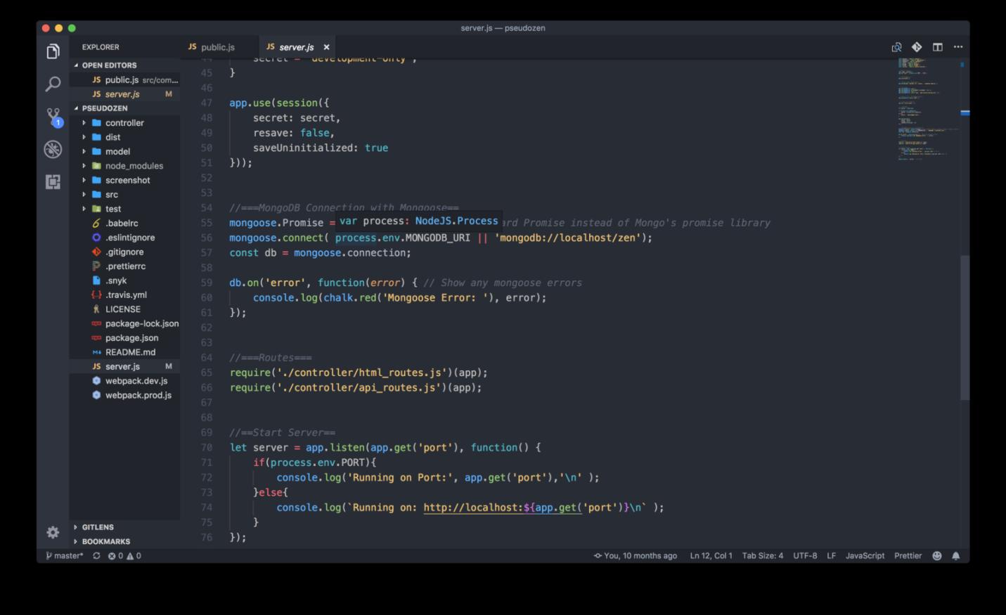 Расширения для VS Code и программирование на JavaScript - 11