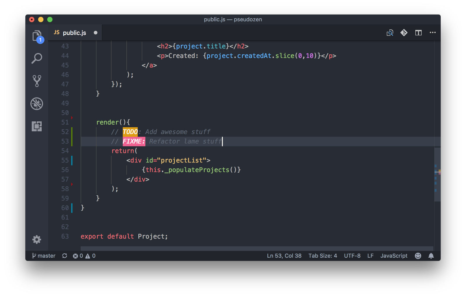 Расширения для VS Code и программирование на JavaScript - 5