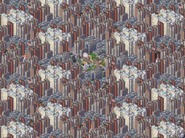 Магнасанти — самый большой и самый ужасный город SimCity - 2