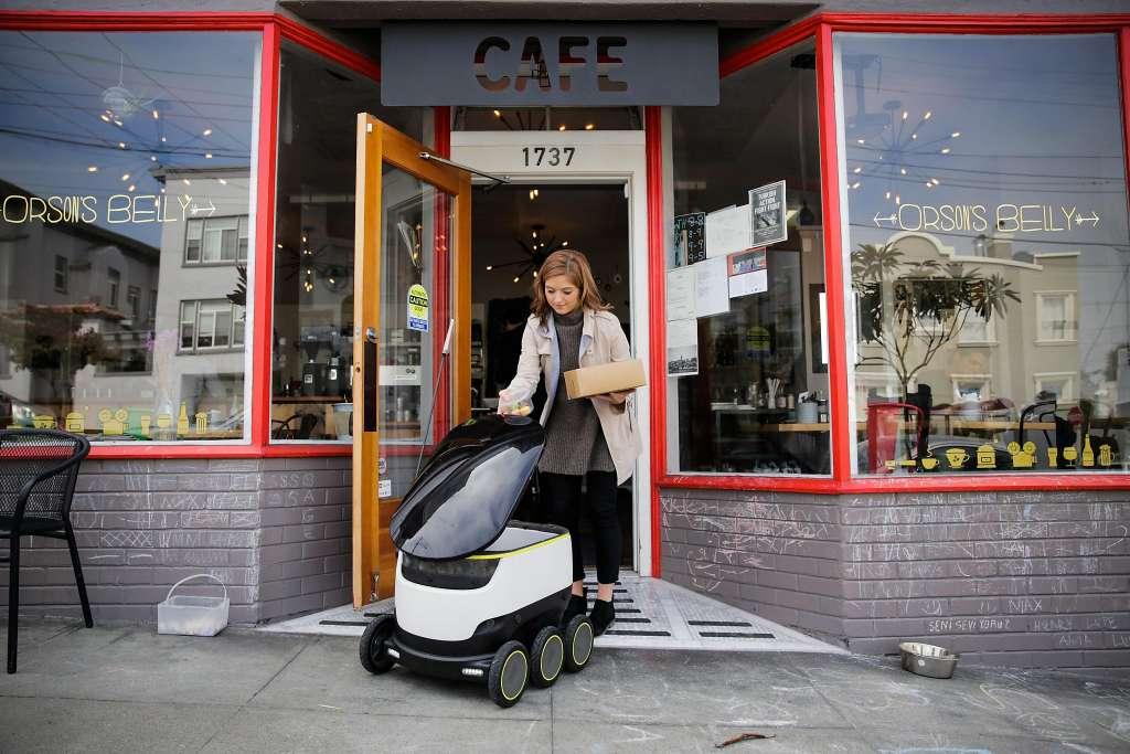 Роботов-курьеров Starship Technologies изгнали из Сан-Франциско - 1