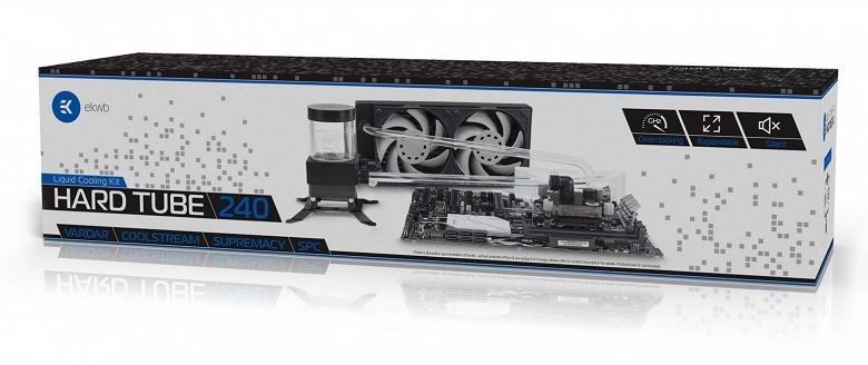 EK Water Blocks выпускает наборы EK-KIT HT240 и EK-KIT HT360 для сборки СВО с жесткими трубками