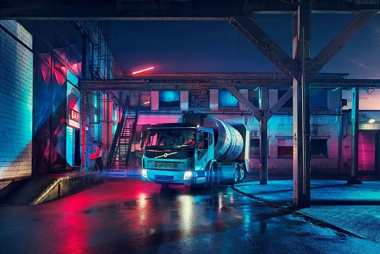 Volvo FE Electric — электрический мусоровоз с полной массой в 27 т