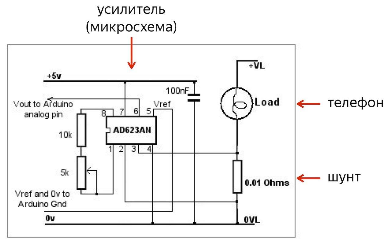 Тестирование телефонов с помощью Arduino - 3