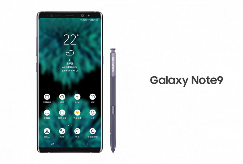 Опубликовано изображения планшетофона Samsung Galaxy Note9