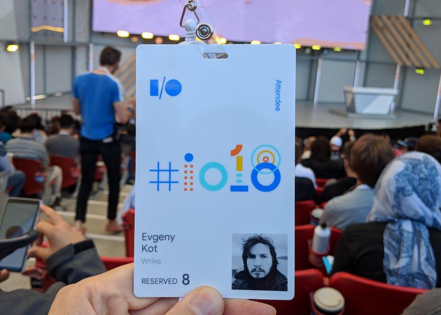 Как я съездил на Google I-O и вернулся живым (почти) - 1
